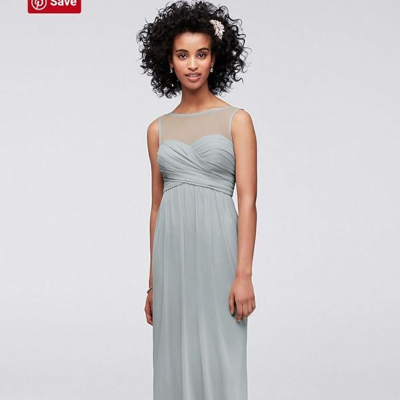 f25313e2c David's Bridal Dresses | Davids Bridal Bridesmaid Dress Mystic Size ...